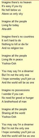 Lennon____Imagine_paroles