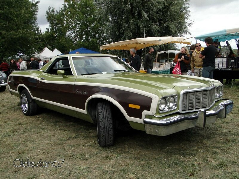 ford ranchero squire 1974 1976 a