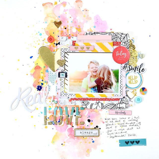 christin gronnslett Love Scrapbook circle 001