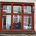 fenêtre rouge