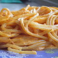 Spaghetti sauce crémeuse au paprika / et même que c'est trop facile !