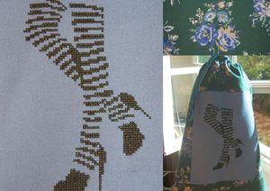 sac à collants mosaïque