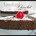 Fondant truff au chocolat et aux pois chiches...