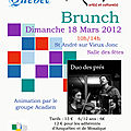 brunch 2012
