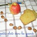 Un cake d'automne pomme-cannelle