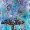 Art journal : alice in wonderland