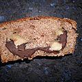 Cake a la creme de marron et chocolat
