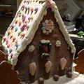 Gingerbread house - vue arriere