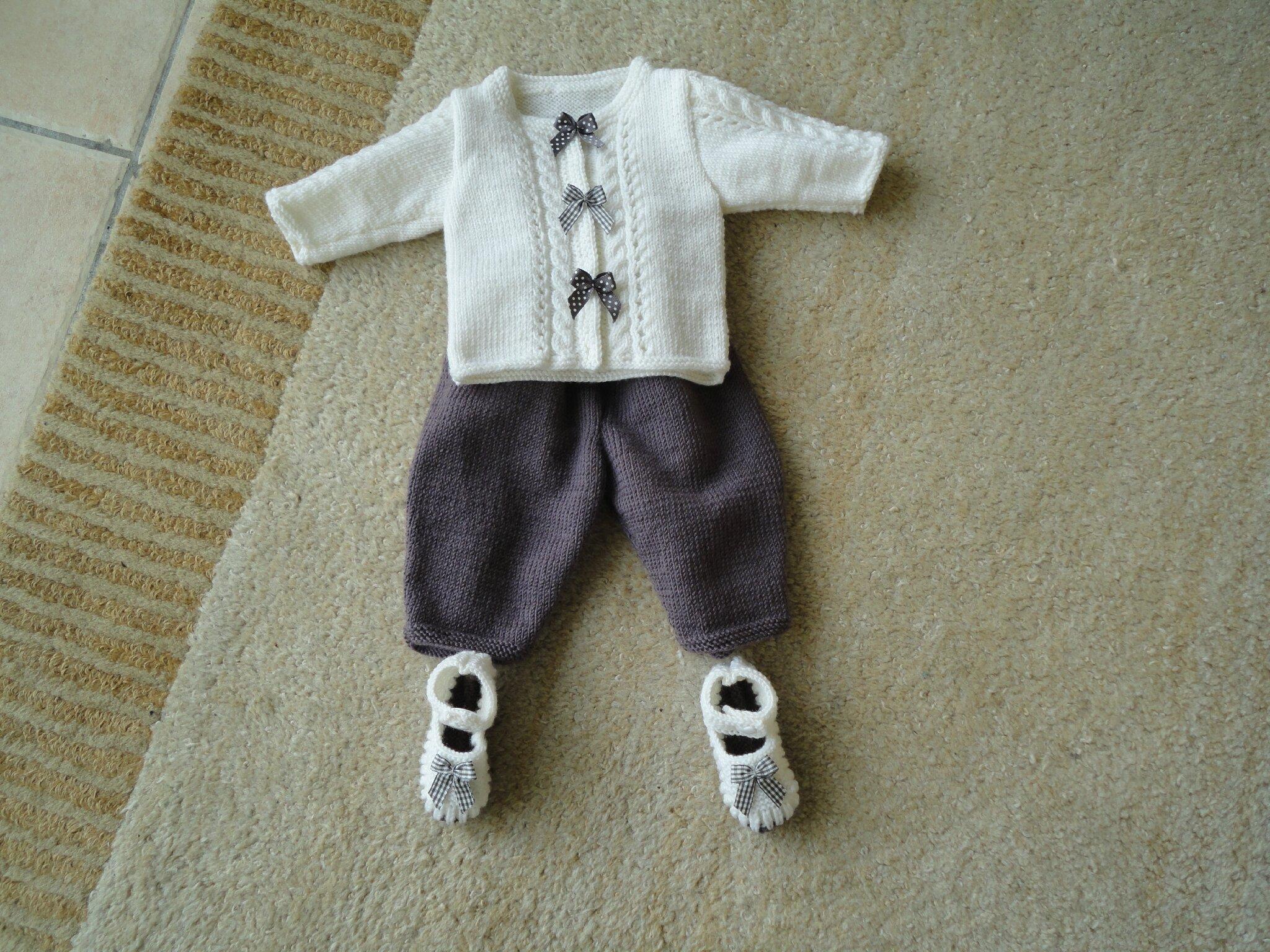 tricot layette naissance