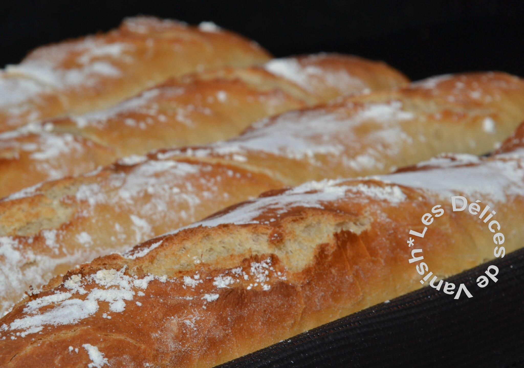 Baguettes maison les d lices de vanish for Baguette de pain maison
