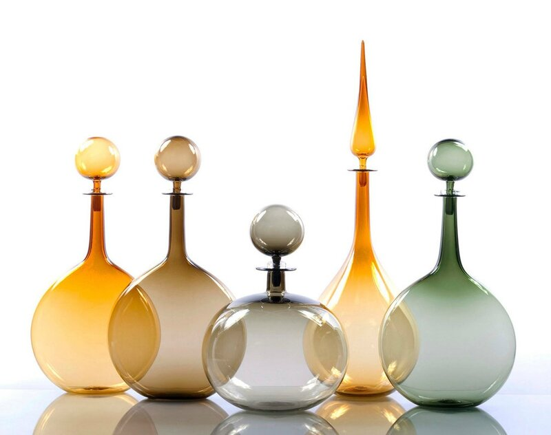 Joe_Cariati_Small_Decanter_Tear_Drop_Amber_02_1024x1024