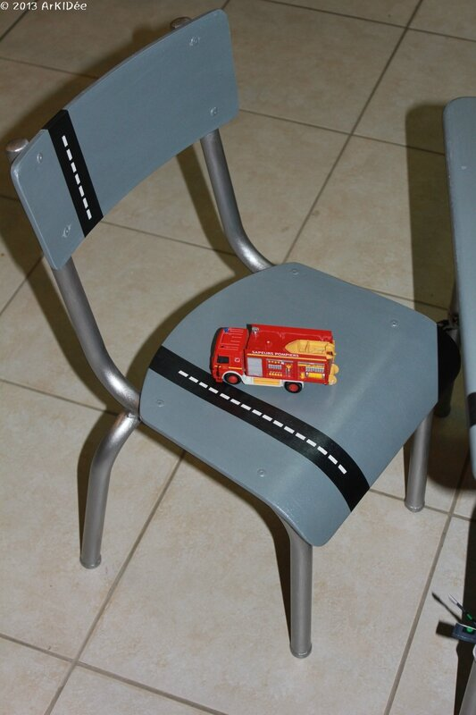 Chaise ensemble écolier Macadam