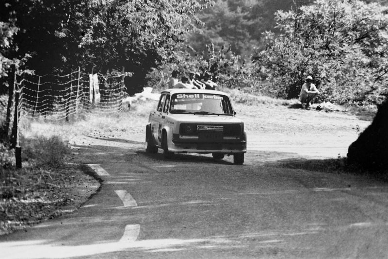 course de cote de montbrison 1982 simca 1000 rallye photos d 39 autos de rallyes de 1977 a 2000. Black Bedroom Furniture Sets. Home Design Ideas