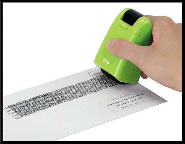 guard your id stamp roller brouilleur de texte 3