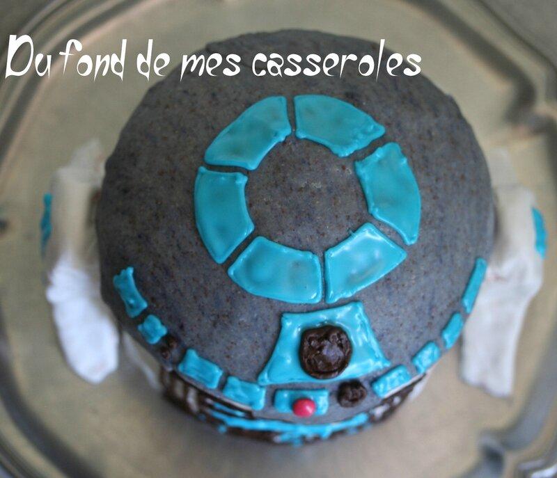 Gâteau R2D2