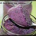 P'tits yaourts aux myrtilles