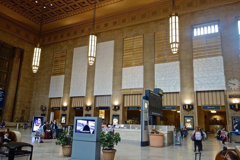 gare de Philadelphia