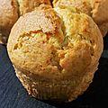 Muffins amande... moelleux et légers