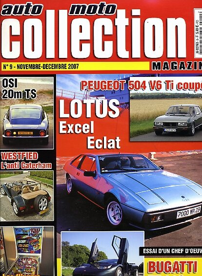 AutoMotoCollection n°9/nov.2007(Lotus & OSI)