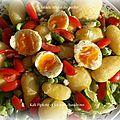 Salade retour du......