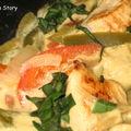 Wok'n roll épisode 1: curry vert de poulet