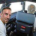 Franck Ribéry avion
