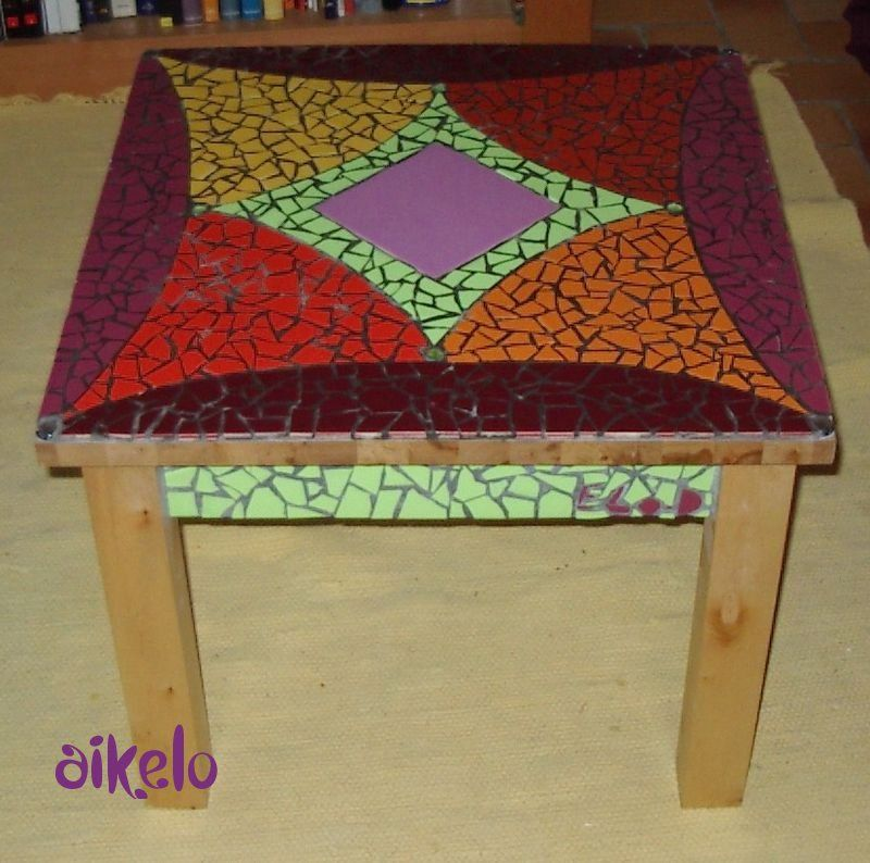 table basse mosaique