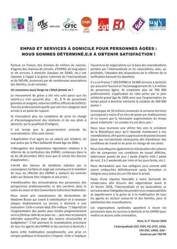 ehpad Tract commun