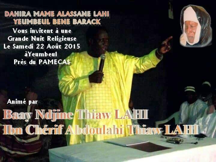 Baye Ndjine Yeumbeul BB