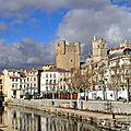 Canal de la Robine (Narbonne, décembre 2013)