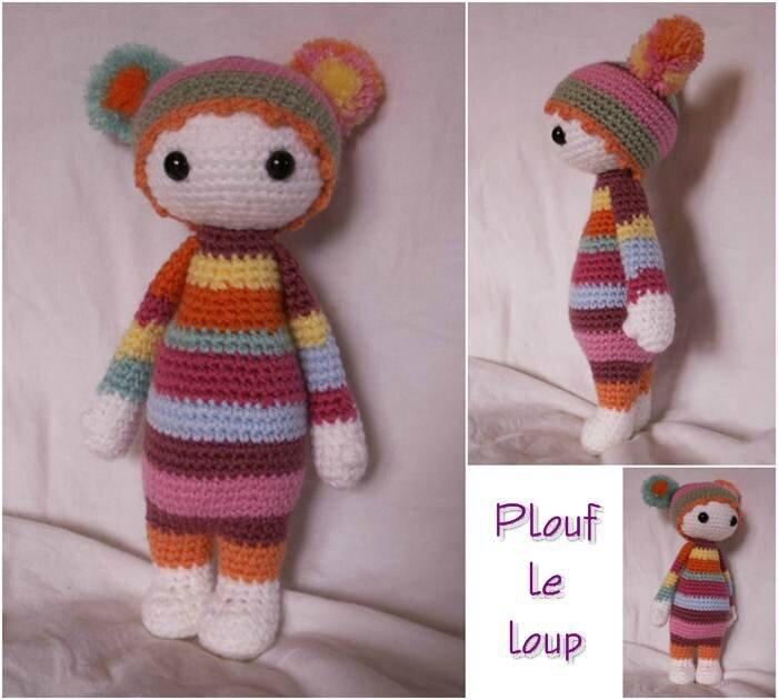 crochet_amigurumi_2015 01_mini poupee multicolore