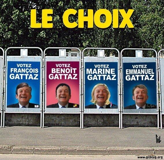 Le vote utile, l'attrape couillon du docteur Gattaz