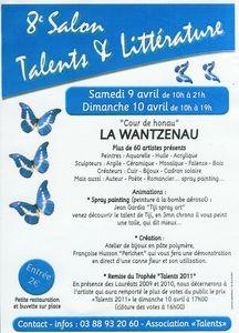 salon talents_wantzenau