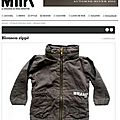 Parka enfant slectionn par Milk Magazine