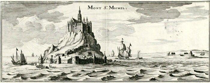 700px-Mont_Saint-Michel,_M__Merian,_1657