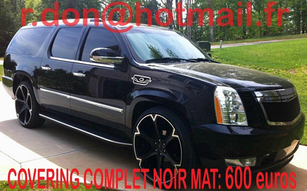 Cadillac Escalade Cadillac Escalade Covering Cadillac