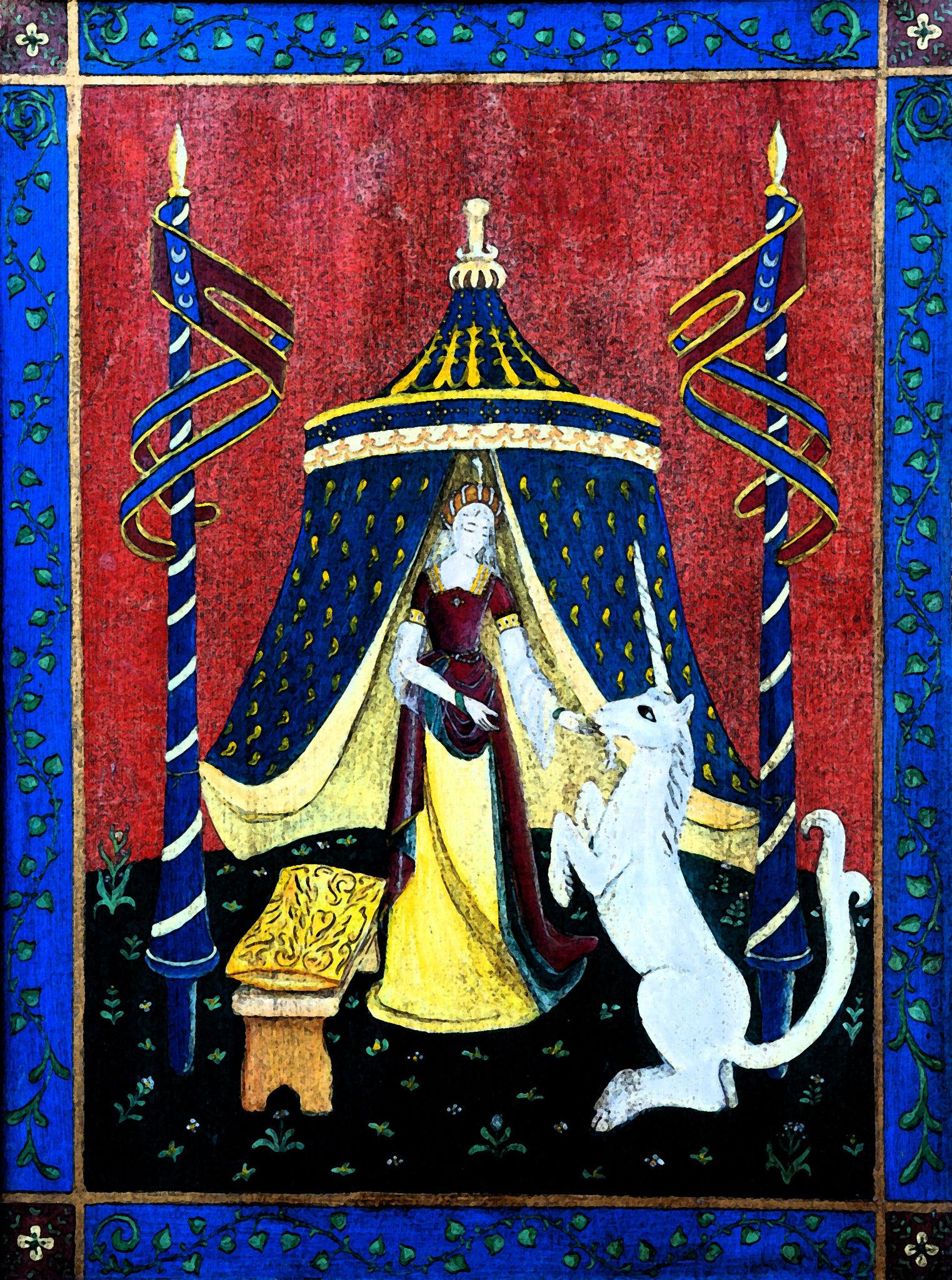 licorne fresque