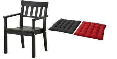 fauteuil-jardin-Angso-coussins-rouge-noir-Ikea