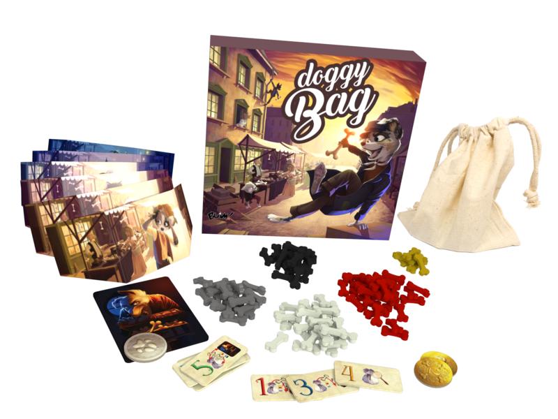 Boutique jeux de société - Pontivy - morbihan - ludis factory - Doggy bag