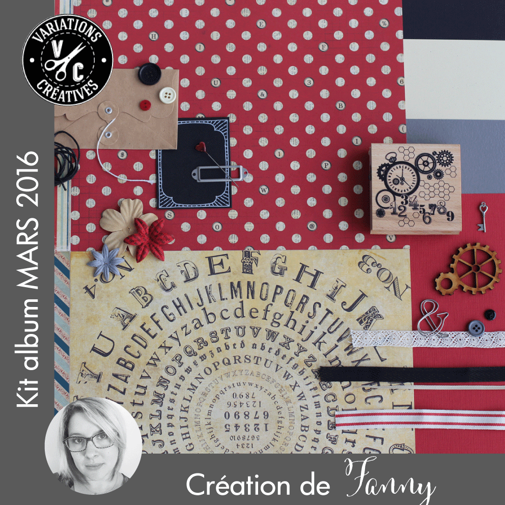 Kit Atelier Album de Mars 2016