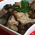 Veau des sous bois à la sauce foie gras (et 200 ans de la maison feyel)