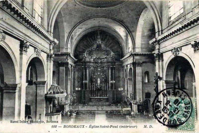 Eglise St Paul-les-Dominicains, intérieur