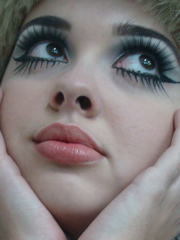 Ann es 60 70 ecole de maquillage artistique flavia palmeira - Maquillage annee 60 ...
