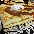 { recette } crêpes au lait de coco