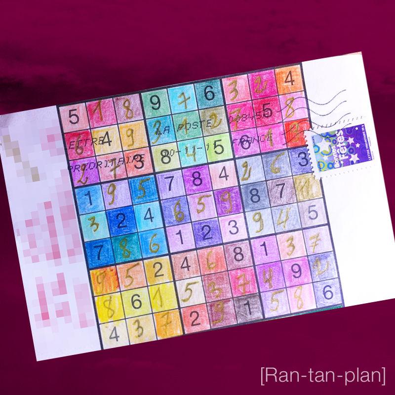 Ran-tan-plan Sudoku recto