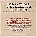Edp_observations sur les témoignages (3): les niveaux de lecture des témoignages