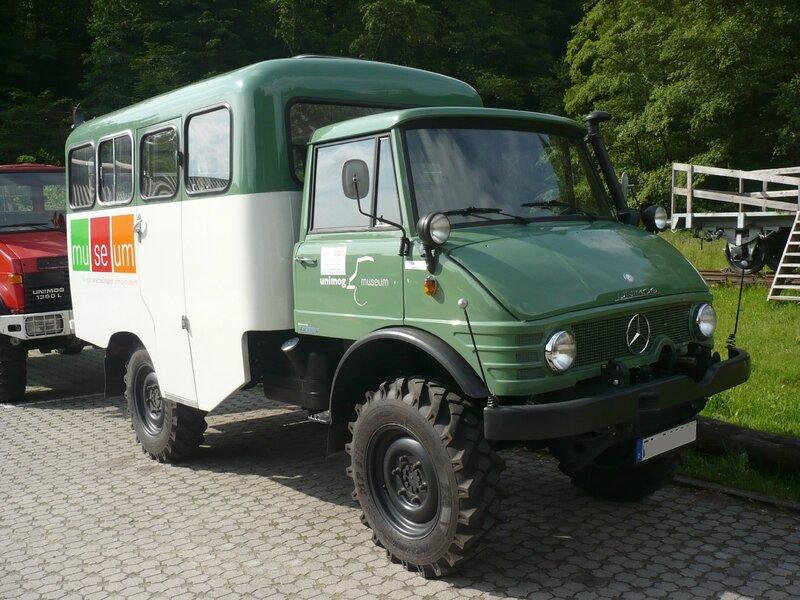UNIMOG type 416A bus 1965 Gaggenau (1)