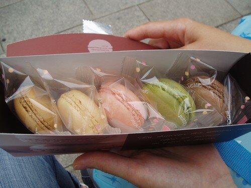 Tokyo choix de macarons