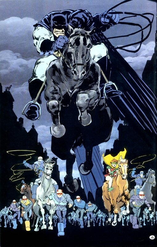 DC essentiels batman the dark knight returns c