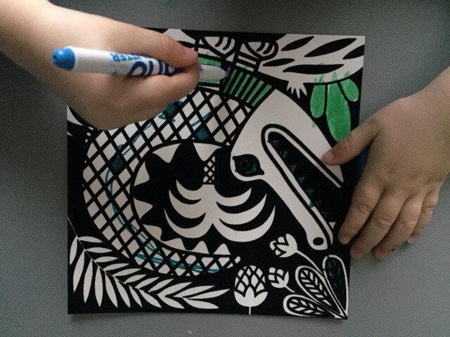 créations coloriages velours gründ 7